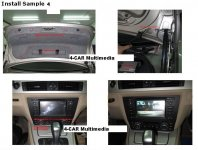 BMW E90 E91 E92 E93 For 3 Series & 1 Serie E81 E82  Navigationsystem